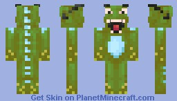 Monster in 3D Glasses [Request] Minecraft Skin