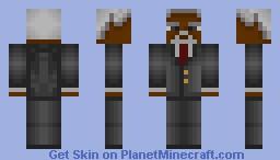 Morgan Freeman! Minecraft Skin
