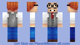 Mort Goldman [Family Guy!][Moving Eyes!] Minecraft Skin