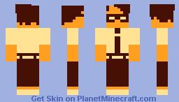 Maurice Moss [The IT Crowd] Minecraft Skin