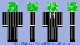 Mr.Creeperon (Have Eyes And mouth) Minecraft Skin