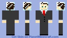 Mister Glasshead Minecraft Skin