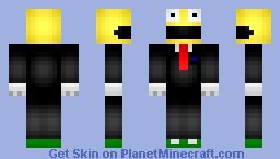 Mr. Pacman Minecraft Skin
