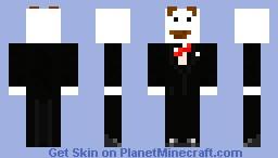 Mr. Pringle Minecraft Skin