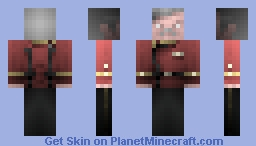 Mr Scott, /  ST Movie Era Uniform - 2285 Minecraft Skin