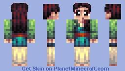 Mulan Minecraft Skin