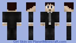 Fox Mulder [X-files] Minecraft Skin