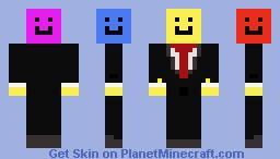 Multi-Smiley Face Minecraft Skin