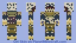 Anubis's Servant (Mummy) Minecraft Skin