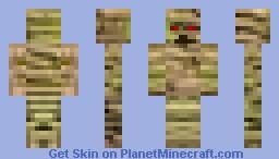 Old Mummy Minecraft Skin