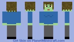 Muscle man (regular show) Minecraft Skin