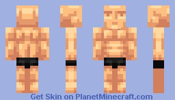 Mmm muscle boy Minecraft Skin