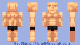 Mmm muscle boy Minecraft Skin