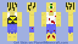 Mutant Ogre of the Apocalypse Minecraft Skin