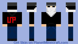 My personal skin, taking the look of Charlie Scene from Hollywood Undead
