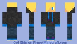 My Skin | Hoodie | Great Shading (Can I get 5 Diamonds?) Minecraft Skin