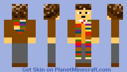 Doctor Who:4th Doctor Minecraft Skin