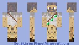 Mycelium Man Minecraft Skin