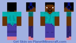 My Knew Steve! Minecraft Skin