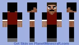One of my many skins i use Minecraft Skin