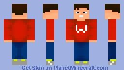 My First Shaded skin Minecraft