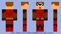 My Super hero Minecraft Skin