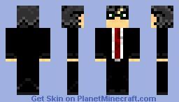 Nerd Suit Minecraft Skin
