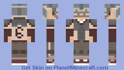 Chuck The Human - Quarterback [BloodRagers] Minecraft Skin