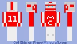 Minecraft NFL Player Minecraft Skin