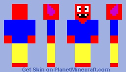 Lack of Inspiration Minecraft Skin