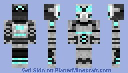 N.O.V.A 3D detail Minecraft Skin