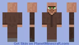 NPC Villager Minecraft Skin