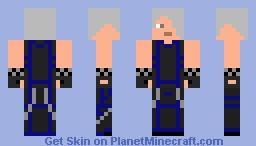 Black Ice Minecraft Skin