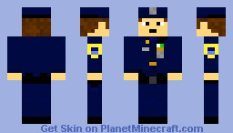 NYPD Police Officer (Male) Minecraft Skin