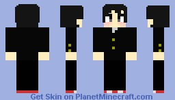 Nagasumi Michisio Minecraft Skin