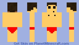 Naked Minecraft Guy