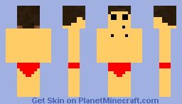 Naked Minecraft Guy
