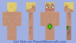 Pemelo - Naked Guy Minecraft Skin