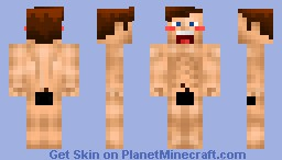 minecraft naked skin