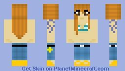 Nami [Time Skip] Minecraft Skin