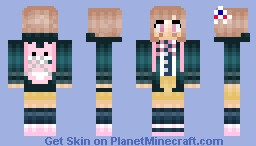 Nanami Chiaki - Super High School Level Gamer - Super Dangan Ronpa 2 - ♦Çåpricorn Minecraft Skin