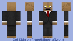 Neat Khajiit (Brown) (With Whiskers) Minecraft Skin