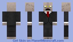 Neat Khajiit (Grey) (With Whiskers) Minecraft Skin