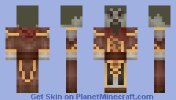 The Elder Scrolls V: Skyrim - Neloth (Dragonborn) Minecraft Skin
