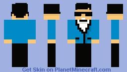 Psy Gangnam Style :D Minecraft Skin