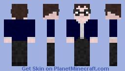 Nerd Minecraft Skin