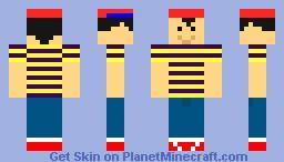 Simple Ness Minecraft Skin