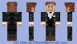 JamesBond Minecraft Skin