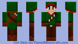 Merida the archer (rpg skin series :D Minecraft Skin