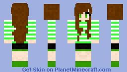 Little Girl (Lime) Minecraft Skin